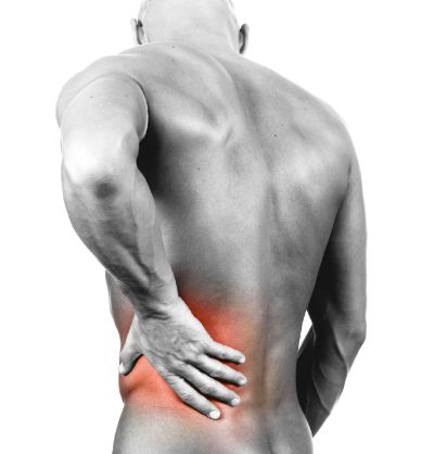 Man suffering from low back pain in Leesburg